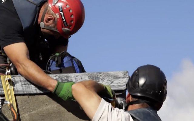 gerüstlose Dacharbeiten