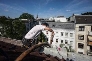 Höhenarbeiten am Dach